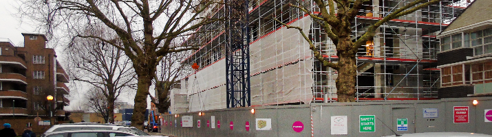 Security Screening / Netting / Protection | Midwest Formwork (UK) Ltd